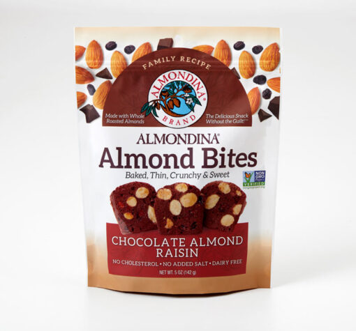 Chocolate Raisin Almond Bites