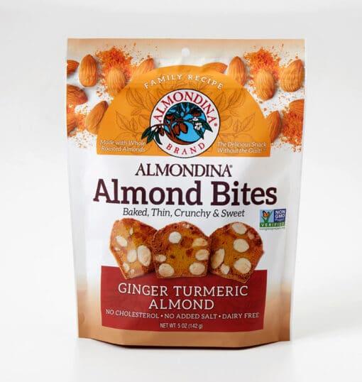 Ginger Turmeric Almond Bites